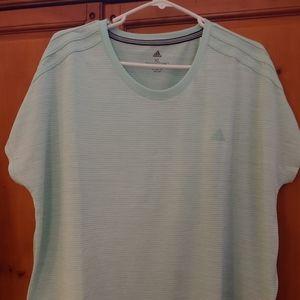 Adidas Climalite v neck shirt